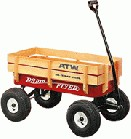 /#22W All−Terrain Steel&Wood Wagon